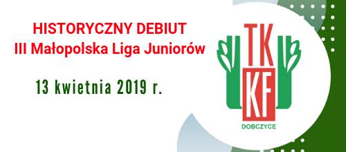 HISTORYCZNY DEBIUT – III Małopolska Liga Szachowa.